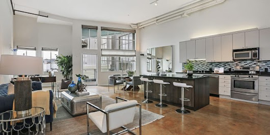 An Urban Chic Converted Loft Comes on the Market in SOMA! - SF Curb Appeal