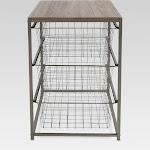 Threshold 3 Drawer Closet Organizer - Wood Top Natural Finish, Size: One Size