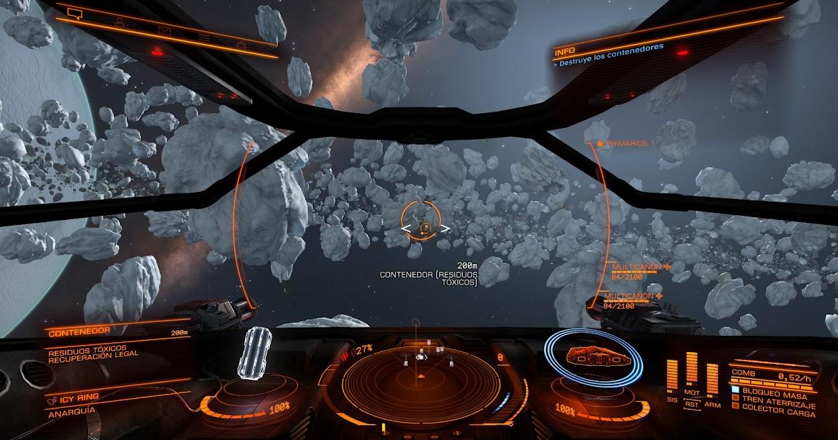Elite Dangerous - 3 Screen Config