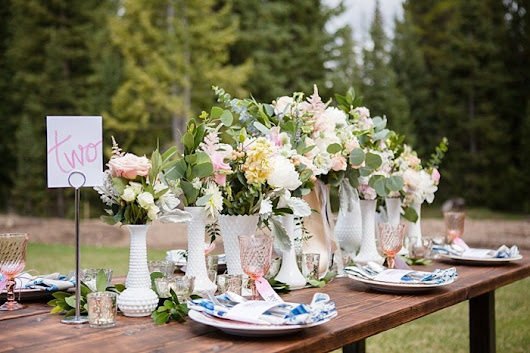 Watercolor Wedding Inspiration in Breckenridge | Photography by Sarah Roshan