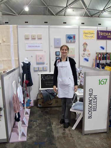 Stitches & Craft show incubator area