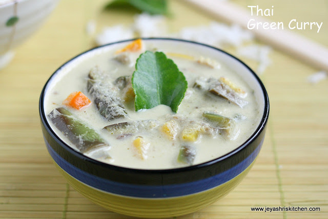 Thai green Curry 1