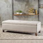 Baltimore Storage Bench - Fabric
