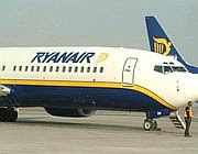 Un aereo Ryanair (Newpress)