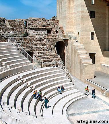 Arquitectura romana: teatro de Sagunto