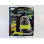Sharper Image 1020005 12V Multi-Function Wet & Dry Auto Vacuum
