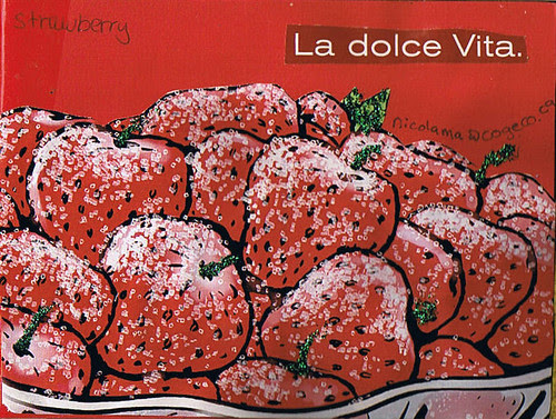 Strawberry deco