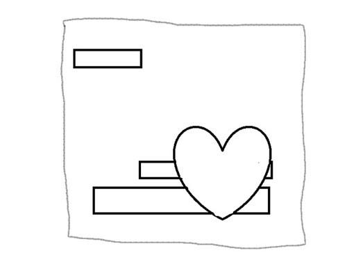Skiss v47 Nina Kärlek/Älskar