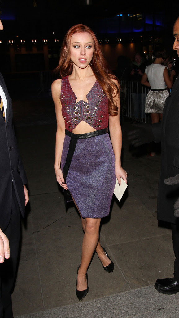 The Saturdays - Una Healy of 'The Saturdays' seen leaving the BBC Radio One Studios in London