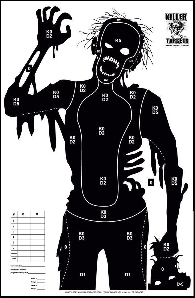 Zombie target printable – absn