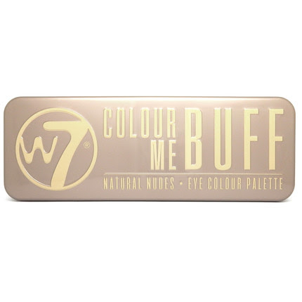 W7 Colour Me Buff Paleta Cieni do Powiek