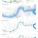"""""""El agua, la memoria '- Propuesta de Replanteamiento de la competencia de Shanghai (11) diagramas de nivel macro"""