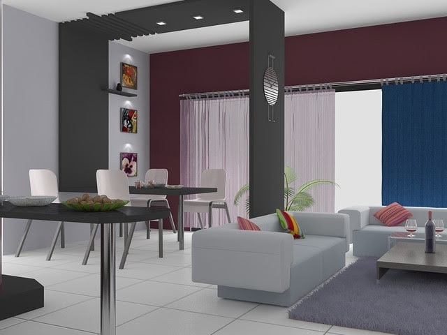 Sandhya's Bangalore Apartment Interior Designs - modern - dining