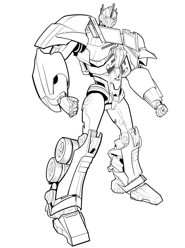 Optimus Primeı Boya Yazdır Minika Oyun