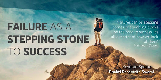 Failures as a stepping stone to success