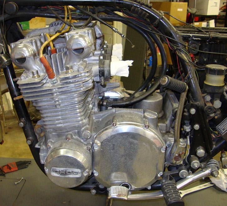 Randys Cycle Service Restoration Engine Transmission