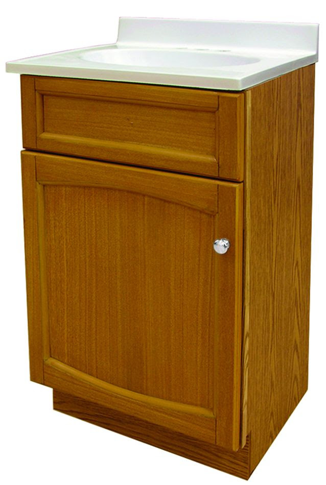 Fore Heo1816 Heartland Genuine Oak 18 Vanity Combo With Top