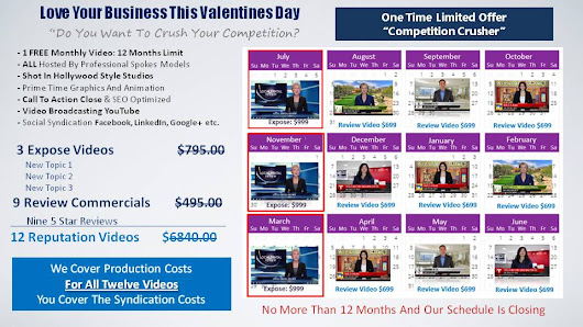 Valentines Day Video Marketing Promotion - Attract More Clients