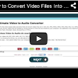 Free Online Video to Audio Converter