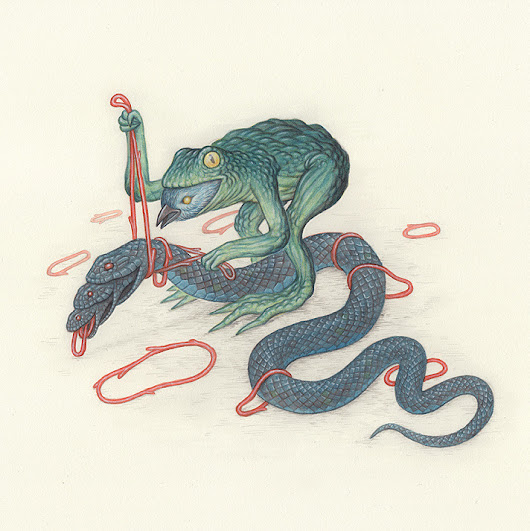 this isn't happiness™ (Frog Bird Snake, Nick Sheehy), Peteski