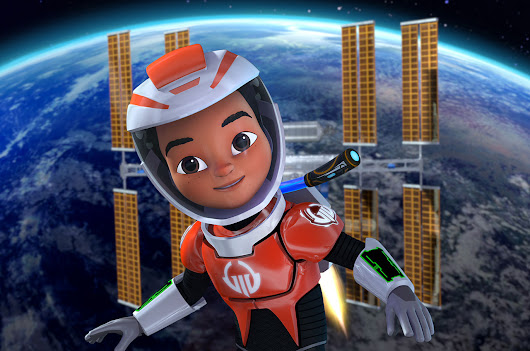 Disney Junior 'Mission Force One' debuts space station episode in orbit | collectSPACE
