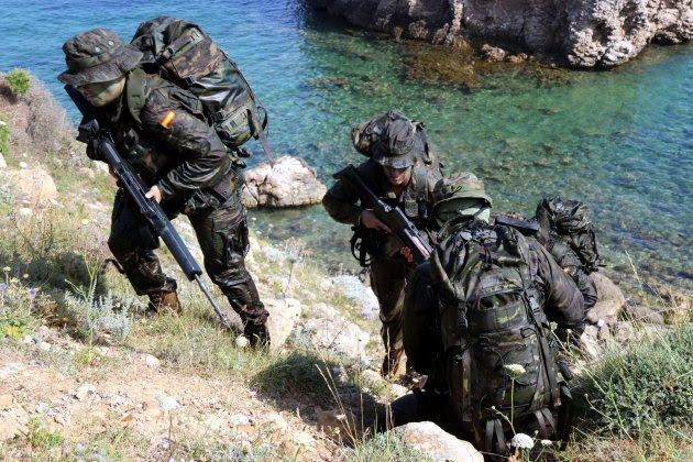 exercici militar escala ACN 4