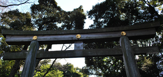 M is for Meiji Shrine