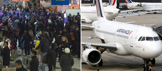 Air travel chaos tomorrow as up to 40% of flights cancelled due to strike