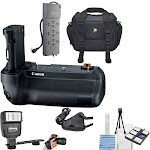 """""""Canon BG-E22 Battery Grip for EOS R Mirrorless Camera with Surge Protector 