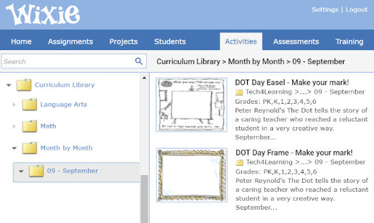 Use September holidays to get students learning with Wixie