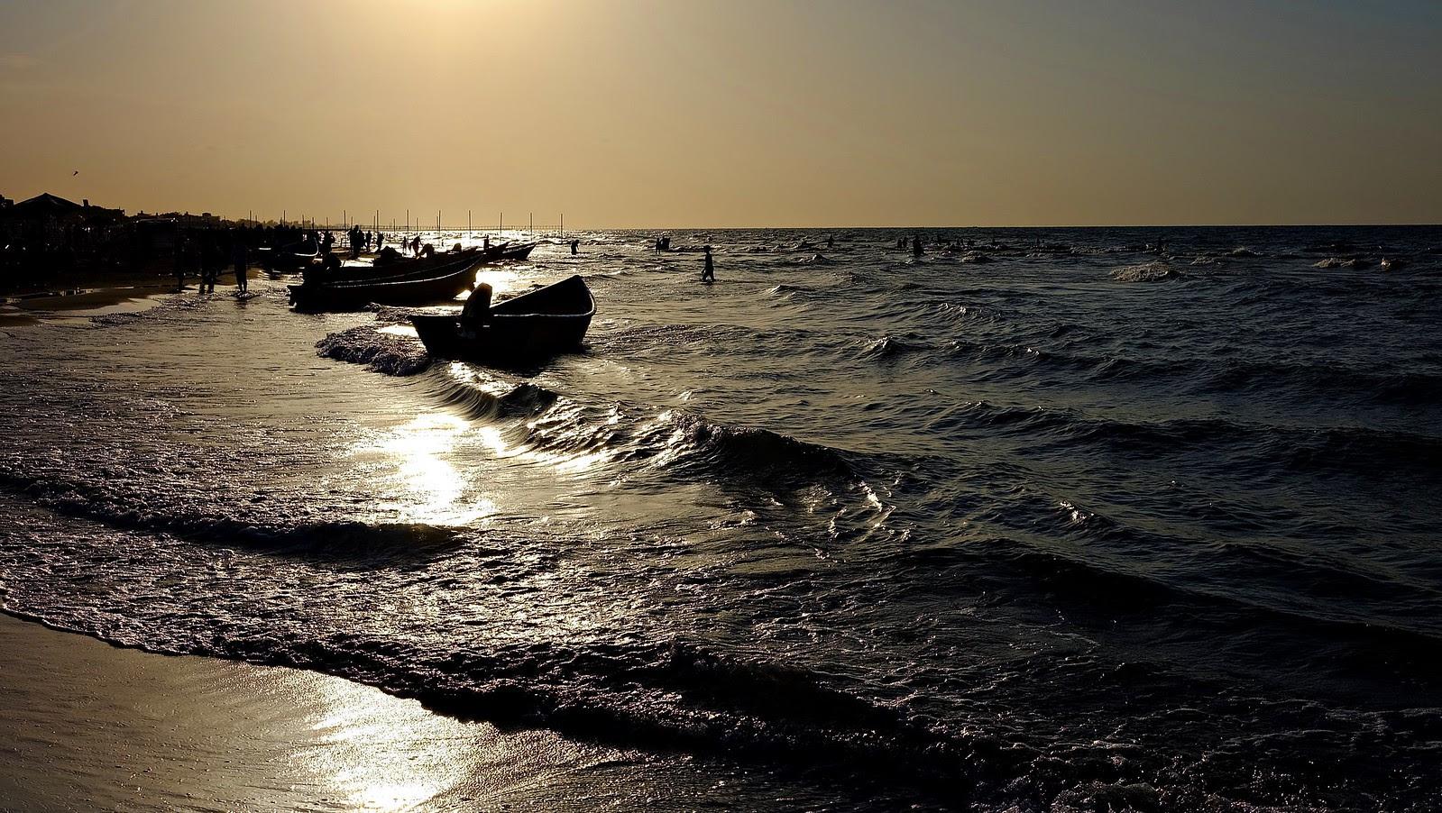Babolsar Beach , Caspian Sea - Iran