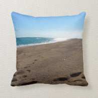 Beach Themed Throw Pillow