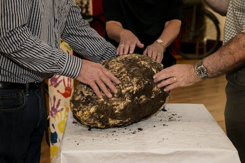 Man finds 22-pound chunk of butter estimated to be more than 2,000 years old in Irish bog