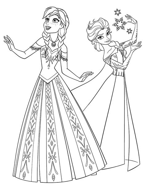 frozen coloring pages birthday printable