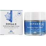 DERMAE Hydrating Night Cream With Hyaluronic Acid & Green Tea 2 oz.
