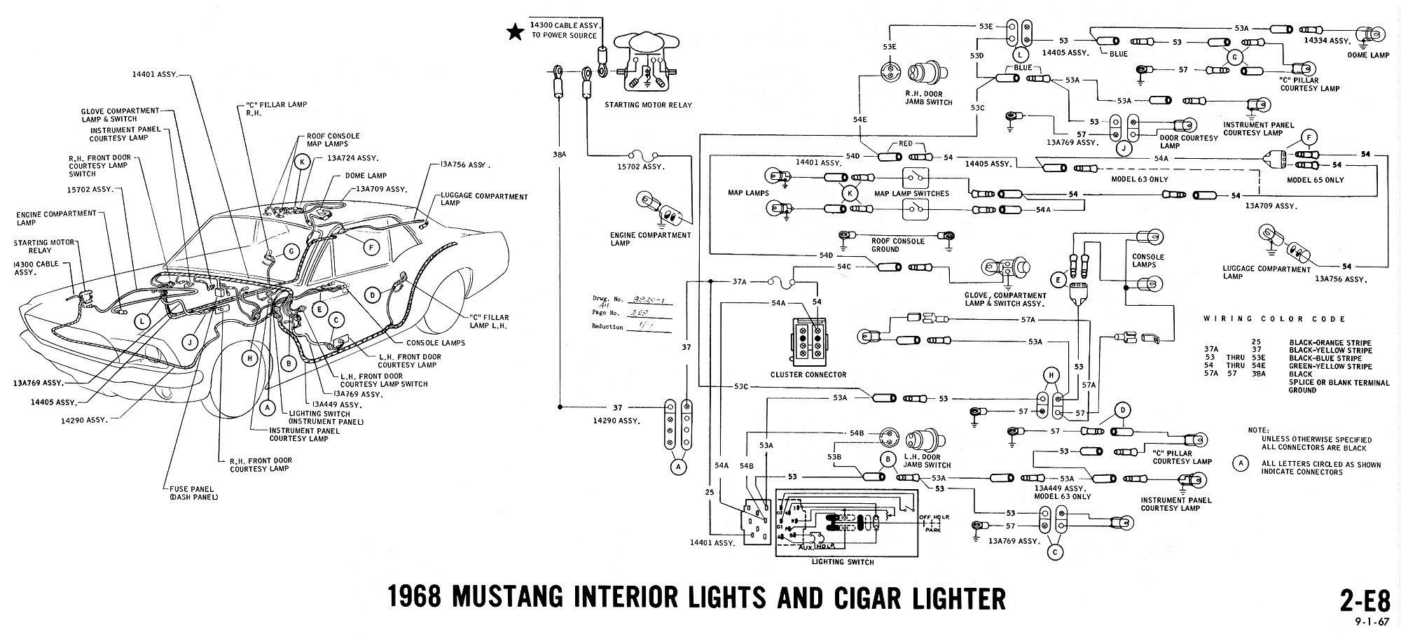 1968 Mustang Headlight Wiring Diagrams Wiring Diagram Frame Frame Cfcarsnoleggio It