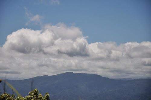 有看到五分山氣象雷達站嗎?