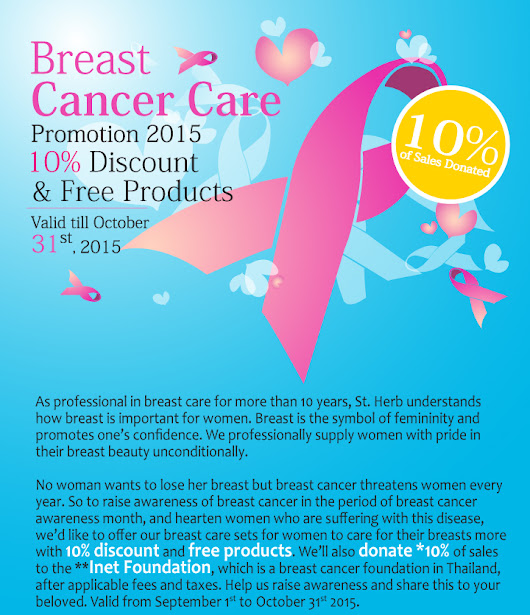 Breast Cancer Care Promotion 2015