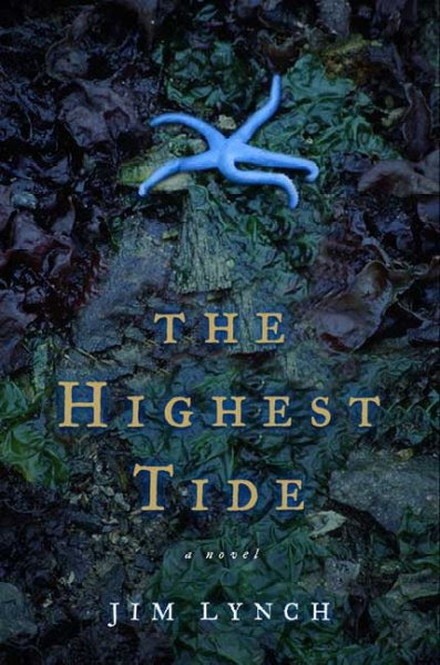 book cover of The Highest Tide by Jim Lynch