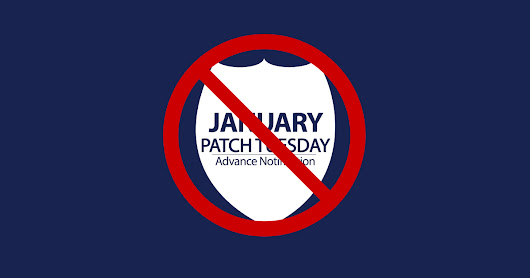 Where's my Patch Tuesday Advance Notification?