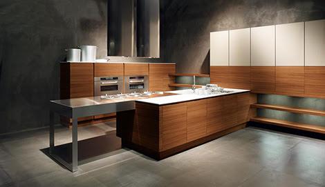 Minimalist Kitchen from Cesar – new Yara Kitchen lets wood take ...