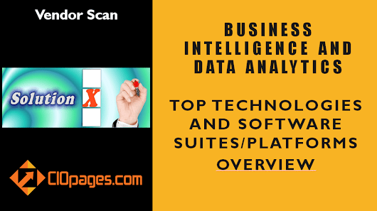 Business Intelligence and Data Analytics – Vendor Scan