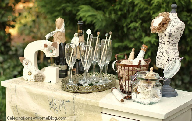 Comfortable Ideas For A Shabby Chic Bridal Shower Celebrations At