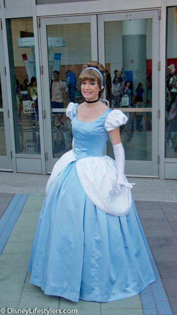 Cinderella, Disney Cosplay at Disney D23 Expo 2013