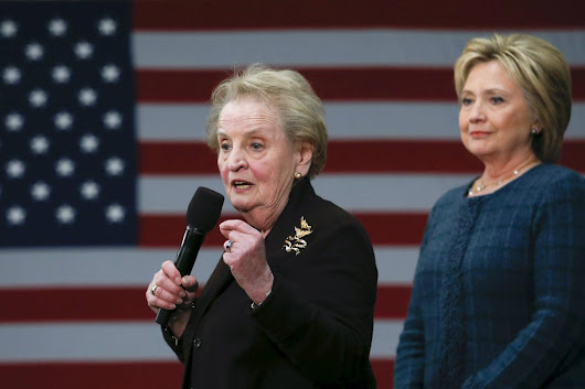 Hillary Clinton addresses sexism after Madeleine Albright and Gloria Steinem scold young women for backing Bernie