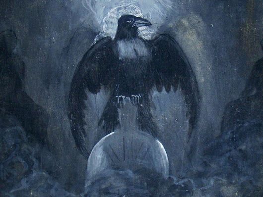 "Publish James Carling Illustrations of Poe's ""The Raven"""