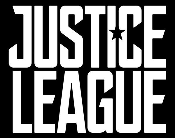 The logo for 2017's JUSTICE LEAGUE movie.