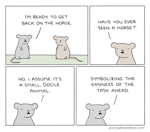 Poorly Drawn Lines • Back on the Horse