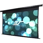 Elite Screens Spectrum Tab-Tension Series Electric125HT Projection Screen - Black