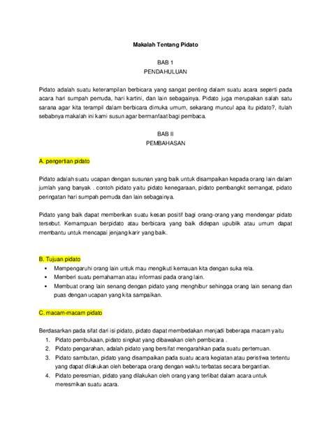(DOC) Makalah Tentang Pidato | Dewi Sarti - Academia.edu